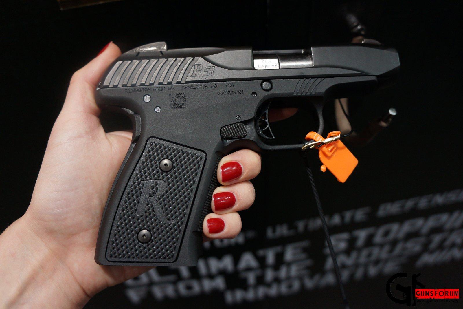 Remington R51 9mm на Shot Show 2014