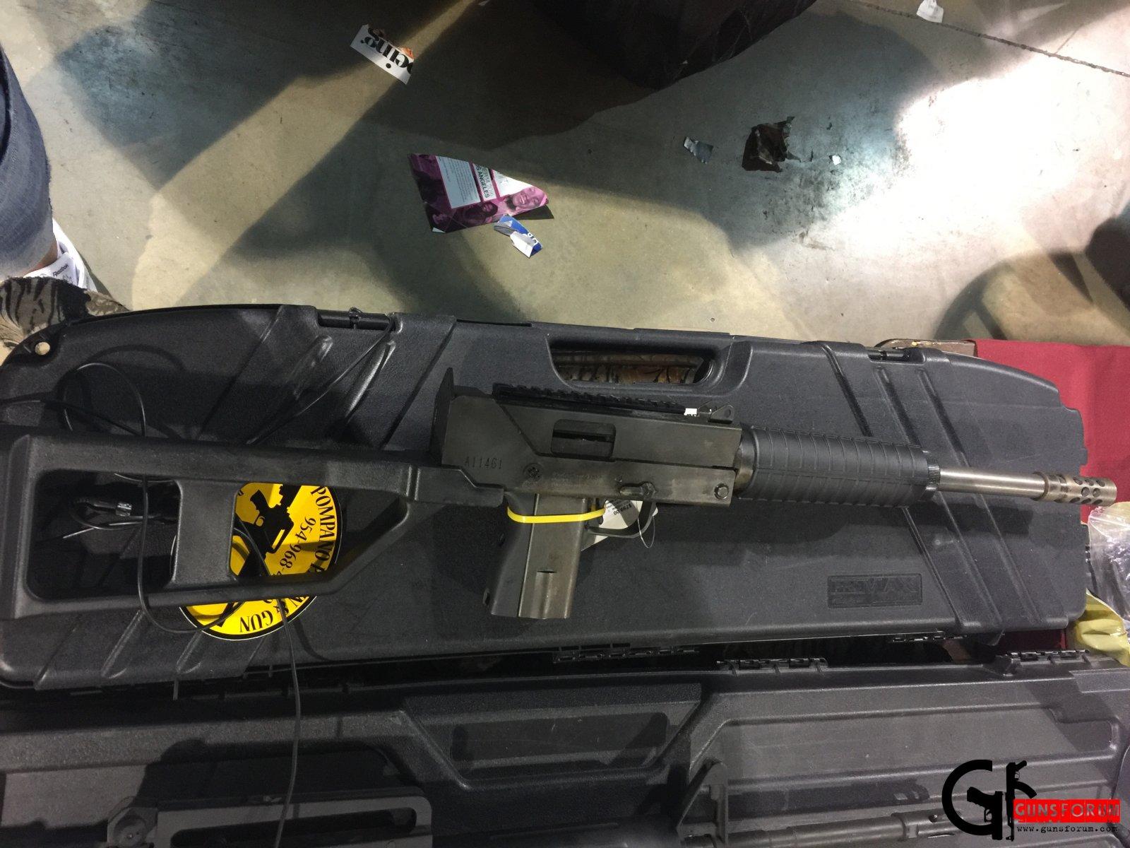 Masterpiece Arms .45ACP Carbine