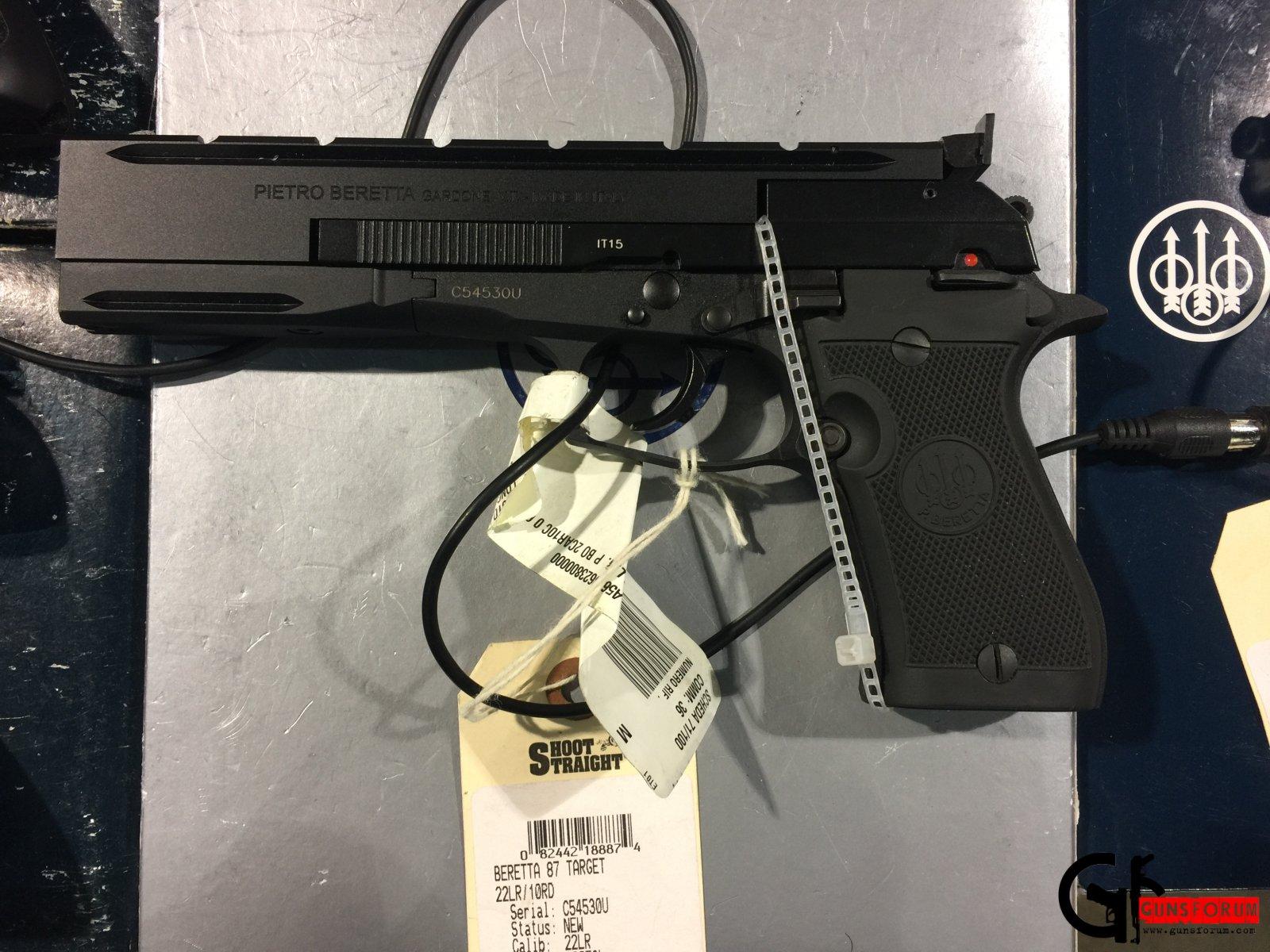 Beretta 87 Target .22LR pistol