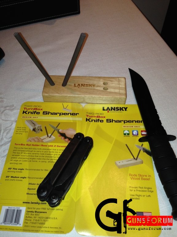Точилка для ножей Lansky Turn Box Ceramic Medium