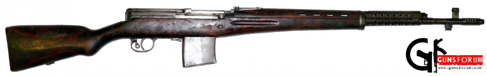 Самозарядная винтовка Токарева (СВТ) Tokarev semiautomatic rifle (SVT)