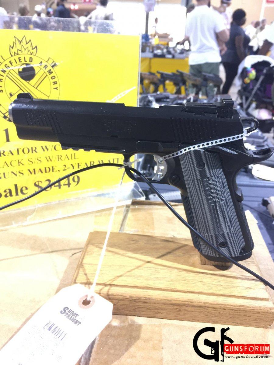 Springfield Armory 1911 FBI Operator pistol
