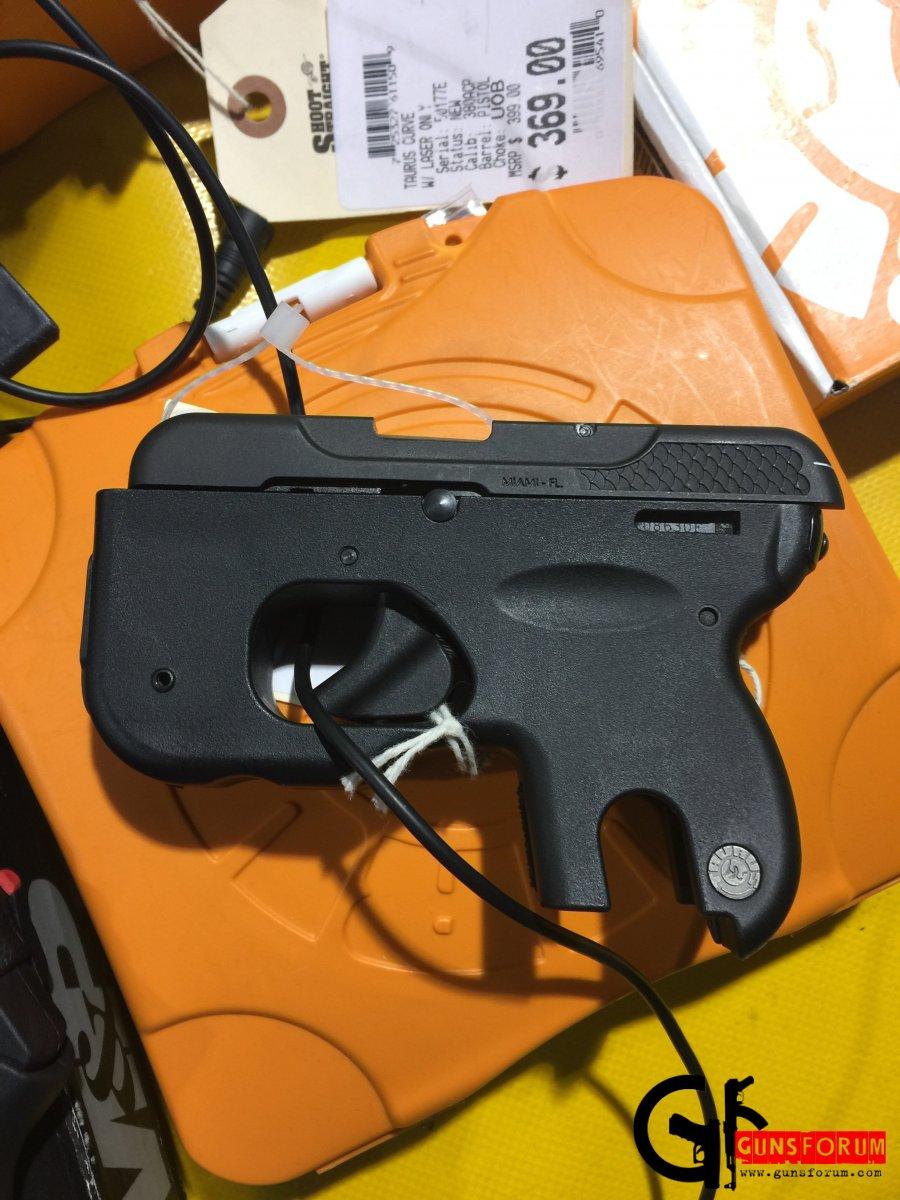 Taurus Curve .380ACP pistol