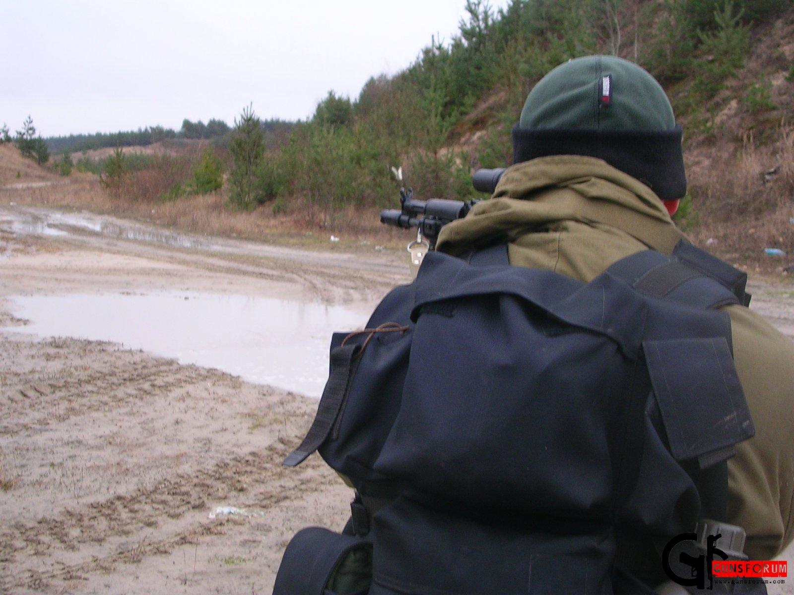 Изготовка - стрельба из положения стоя