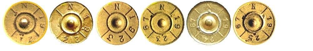 3 Маркировка на гильзах патронов 7,92х57мм Польша