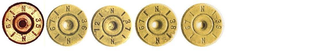 7 Маркировка на гильзах патронов 7,92х57мм Польша