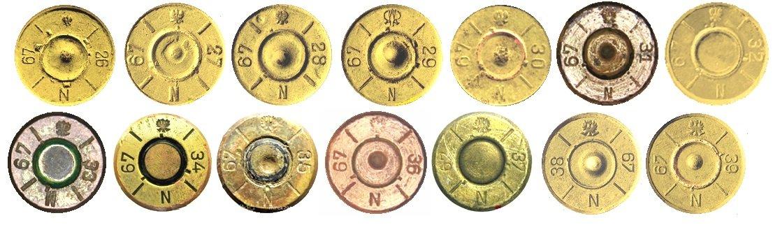 17 Маркировка на гильзах патронов 7,92х57мм Польша