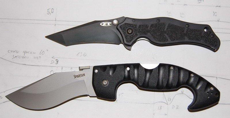 Cold Steel Spartan и Zero Toleranse 0400 Scavenger.jpg