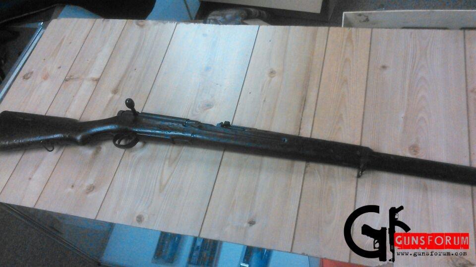 Японская винтовка Arisaka 99 калибра 7х57 времен Второй Мировой Войны