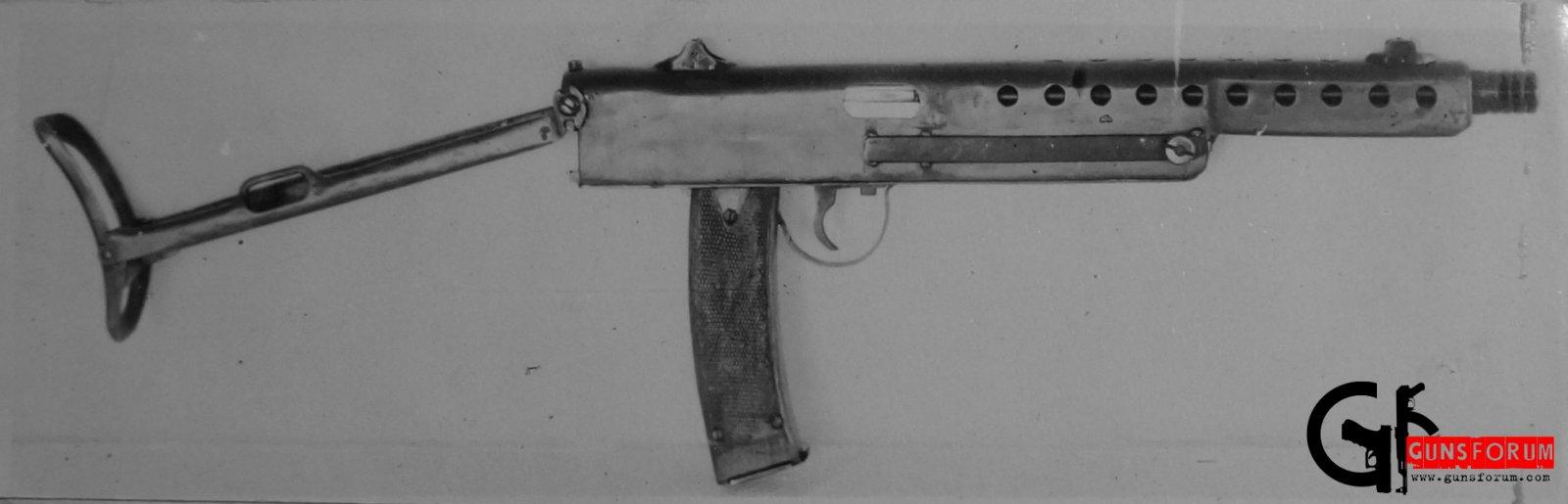 пистолет-пулемет Пушкина