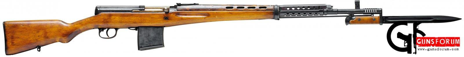 Самозарядная винтовка Токарева (СВТ) Tokarev semiautomatic rifle (SVT)