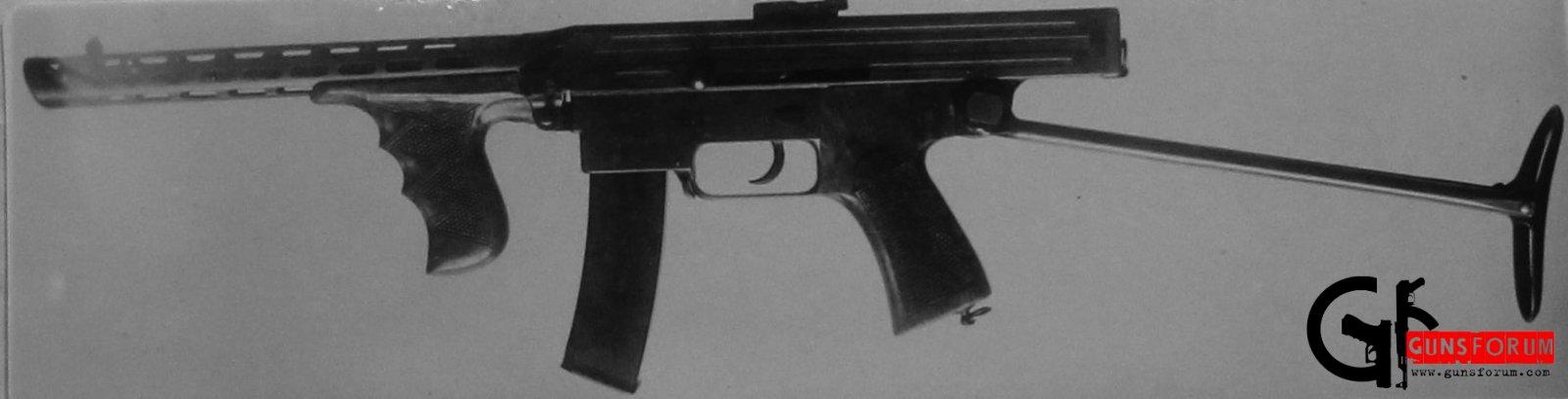 Kalashnikov submachine gun 1942 / пистолет-пулемет Калашникова (обр.1942)