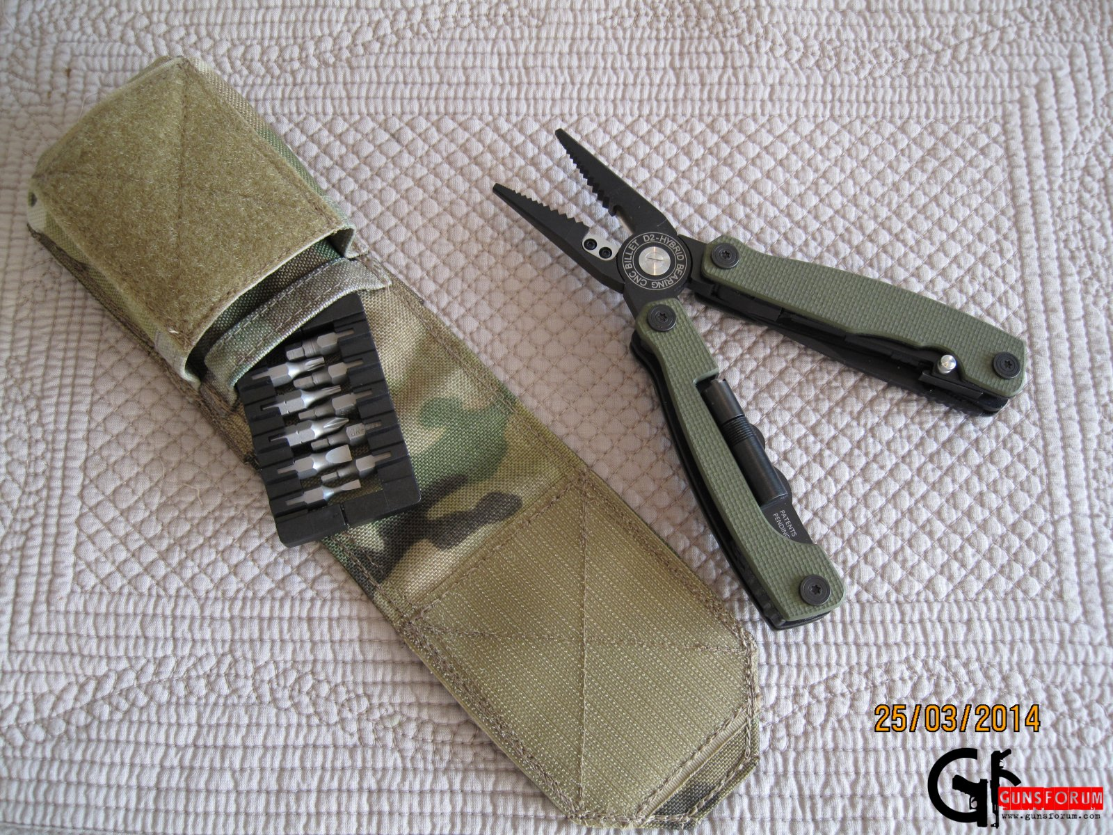Подсумок EGL MT3 pouch для мультитула Multitasker series 3 multitool от Extreme Gear Labs