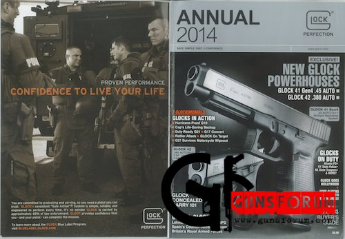 Glock Perfection Annual 2014 catalog