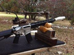Jesse James Firearms Unlimited Nomad AR-15 aero-sonic supressor