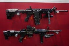 Стенд компании CAA Tactical на Shot Show 2014
