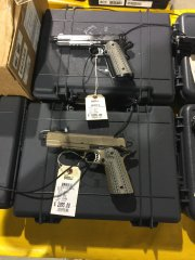 Silent operator 1911 pistols