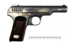 Пистолет Токарева первая модель