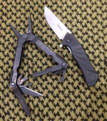 Нож и мультитул