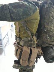 Пояс и рюкзак