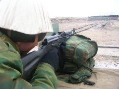 Изготовка - стрельба из положения лежа