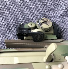 Быстросъемный кронштейн LaRue LT-661 покрашенный Cerakote Multicam