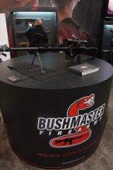 Винтовка Bushmaster BA50 на Shot Show 2014
