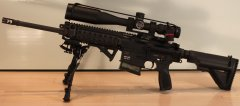 Пристрелка Heckler&Koch MR308 с Nightforce NXS 3.5-15x50