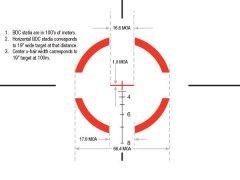 Оптический прицел Trijicon VCOG 1-6x24