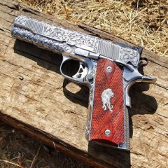 Lynn Thompson's Custom engraved 1911