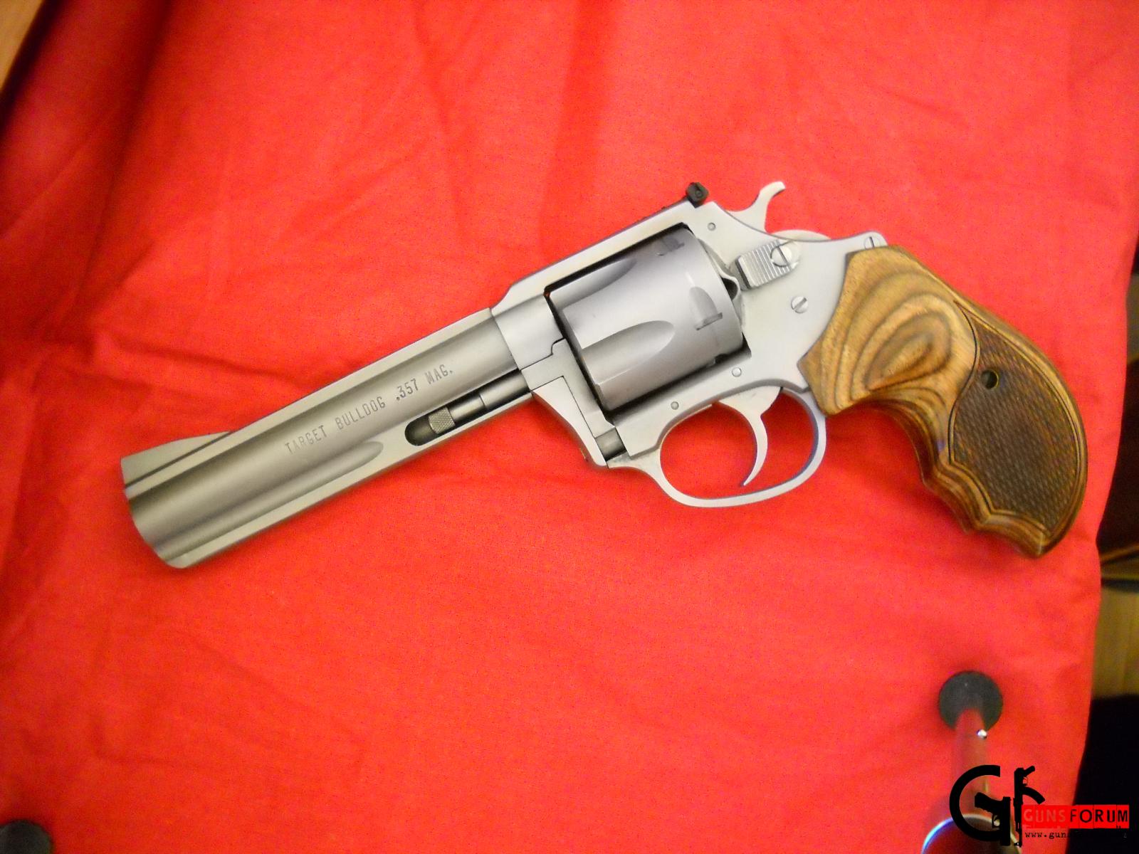 Charter Arms Target Bulldog .357 Magnum.