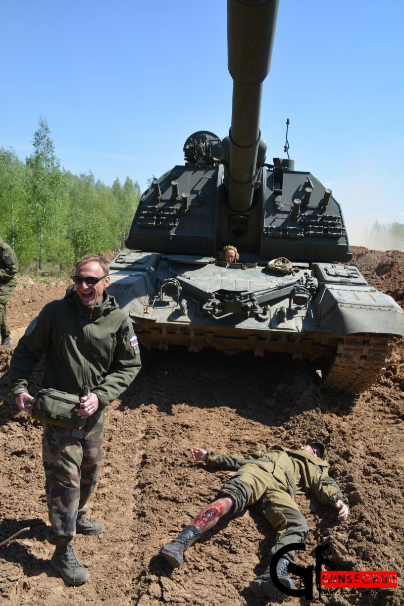 Инструктор по тактической медицине Д.С.Ульянов