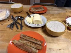 """Вкусный сытный завтрак в ЦСП """"Витязь"""""""