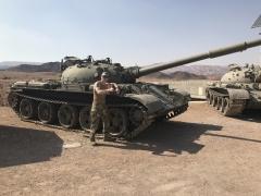 На фото Т-62, когда-то захваченные у Сирии. Фото из архива автора, сделано в окрестностях города Эйлат, на юге страны