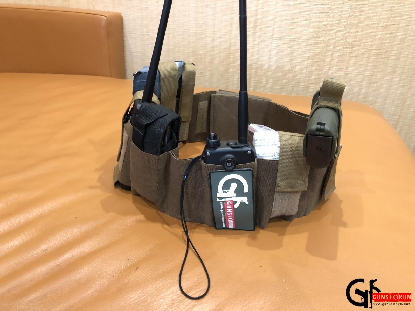 Эластичный пояс для скрытного ношения оружия от компании Tango Tactical