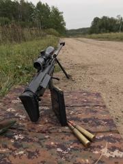 И сегодня армейская снайперская винтовка крупнокалиберная (АСВК) — российская крупнокалиберная снайперская винтовка, созданная в 2004 году коллективом конструкторов завода имени В. А. Дегтярёва в Коврове на базе винтовок КСВК
