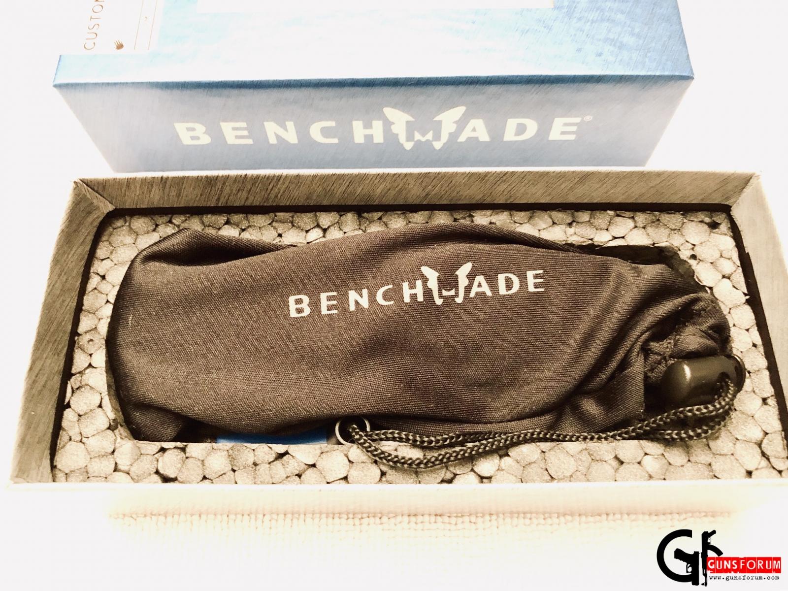 Приз за 1ое место Bechmade custom Barrage с логотипом Gunsforum
