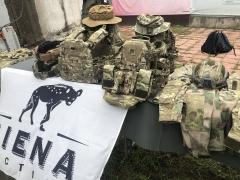 Прилавок компании Giena Tactical