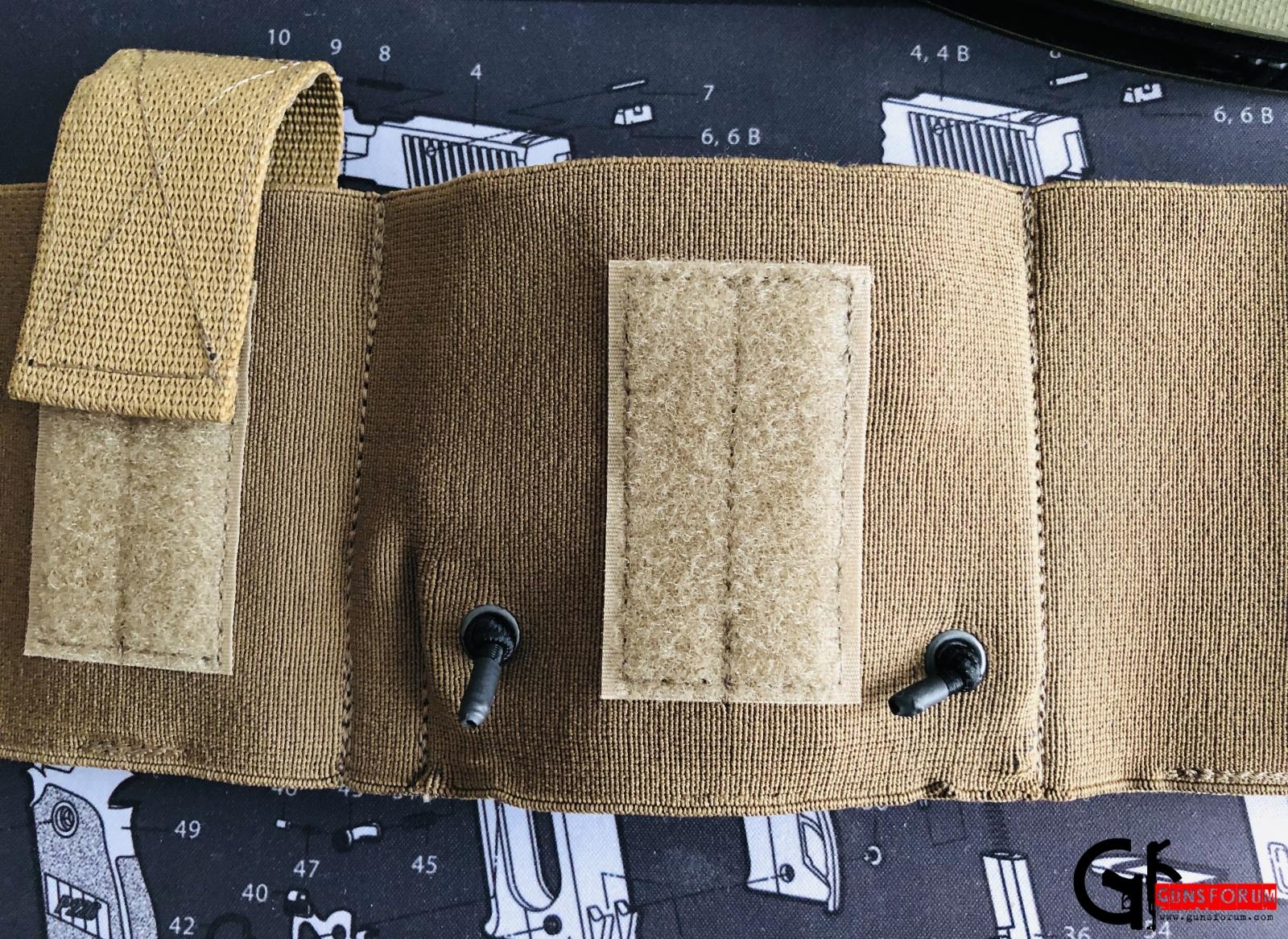Вставка из кайдекса в пояс скрытого ношения Tango tactical