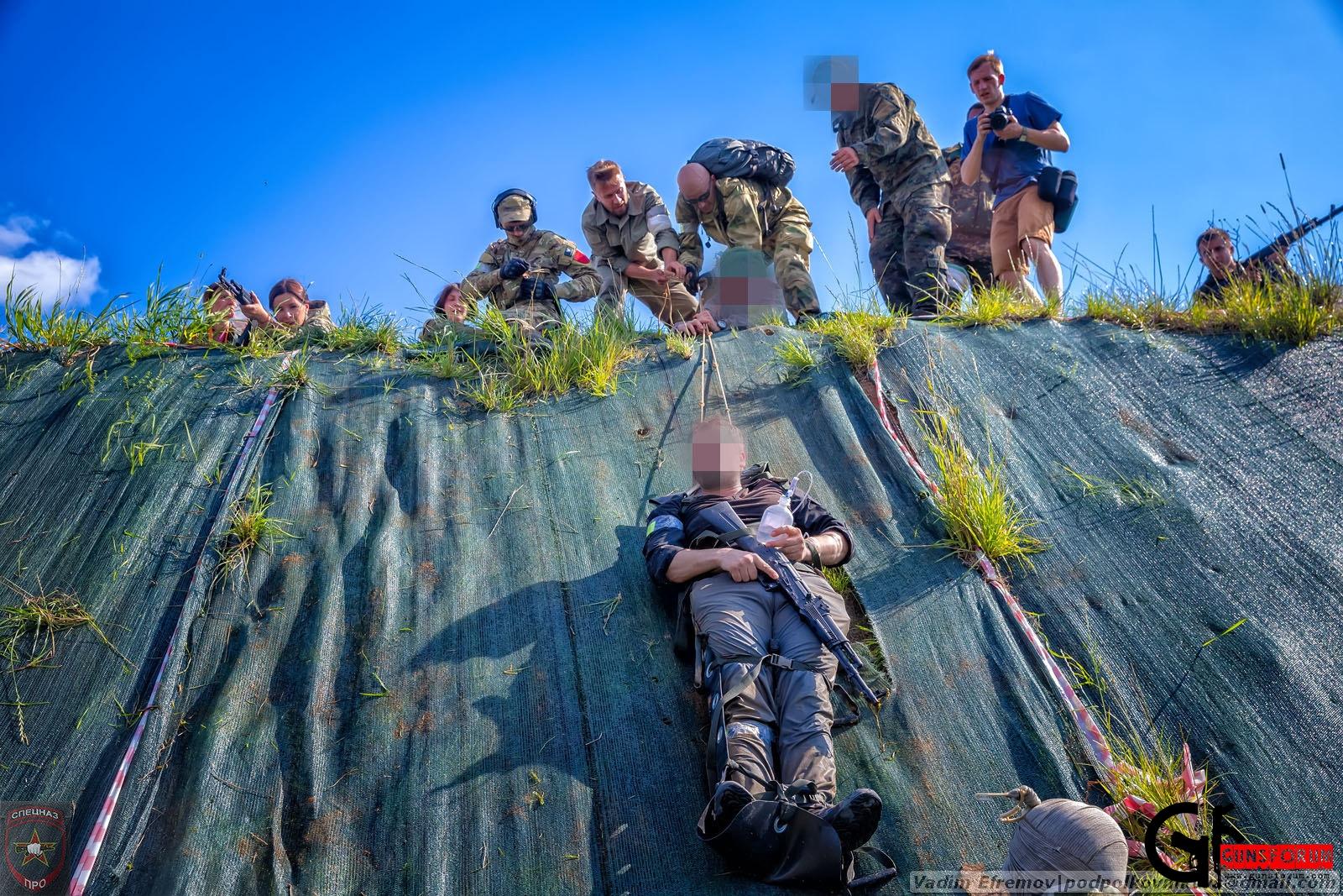 Курсы тактической медицины А.Н.Катулина в парке Патриот, павильон Калашников