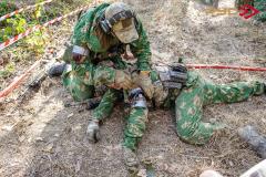 Военно-медицинская подготовка. Являлась обязательным слагаемых двух упражнений