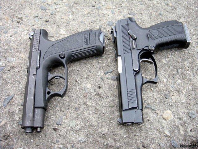Пистолеты ГШ и ПЯ - фото Кардена