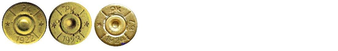 8 Маркировка на гильзах патронов 7,92х57мм Польша