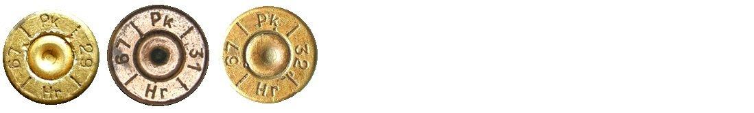 10 Маркировка на гильзах патронов 7,92х57мм Польша